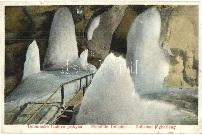Dobsina, ladova jaskyna / Eishöhle / ice cave, Dobsina, jégbarlang
