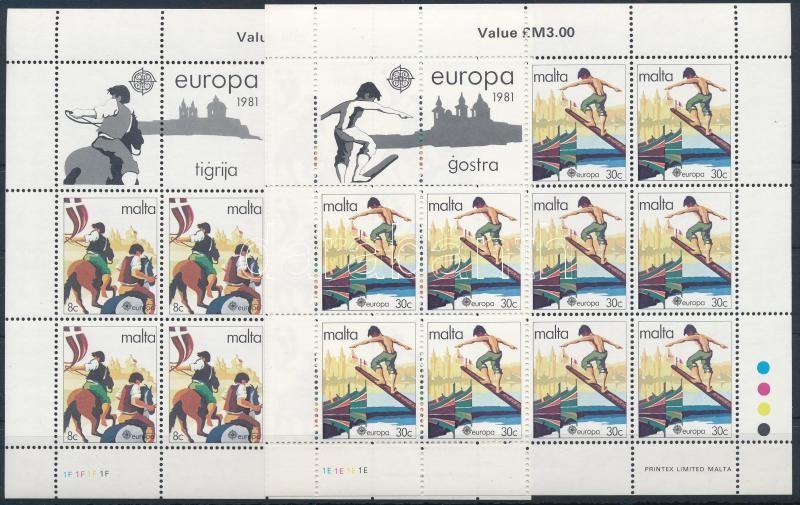 Europa CEPT Folklore mini sheet set, Europa CEPT: Folklór kisív sor