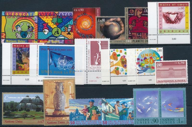 1998-2000 8 diff sets + 4 diff stamps, 1998-2000 8 klf sor + 4 klf önálló érték