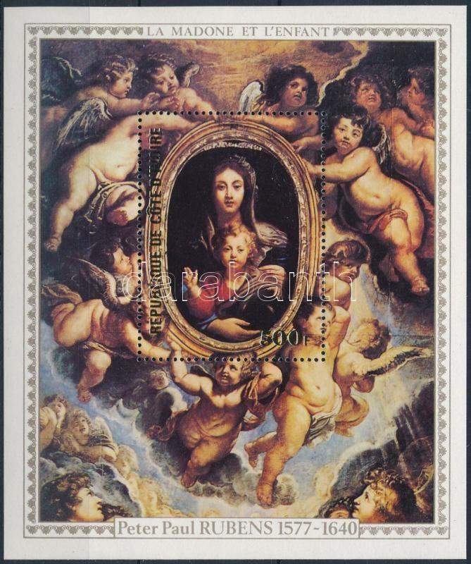 Rubens paintings block, Rubens festmények blokk