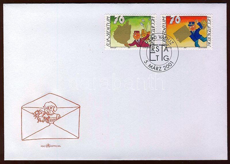 Greeting stamps set FDC, Üdvözlő bélyegek sor FDC, Grußmarken Satz FDC