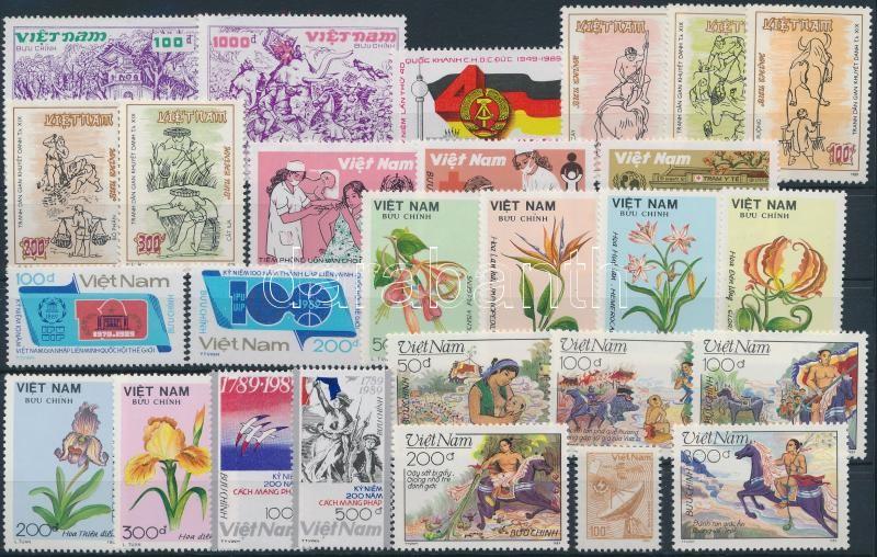 27 stamps, 27 klf bélyeg, közte sorok