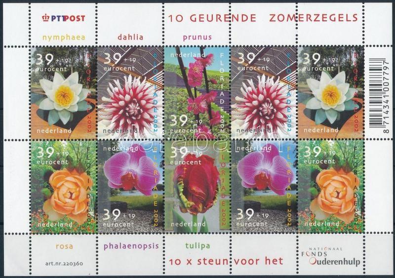 Flowers minisheet, Virágok kisív