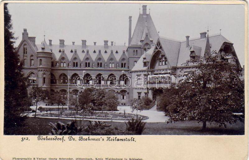 Sokolowsko Dr. Hermann Brehmer sanatorium, Sokolowsko Dr. Hermann Brehmer szanatórium