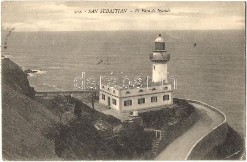 San Sebastián, El Faro de Igueldo / lighthouse