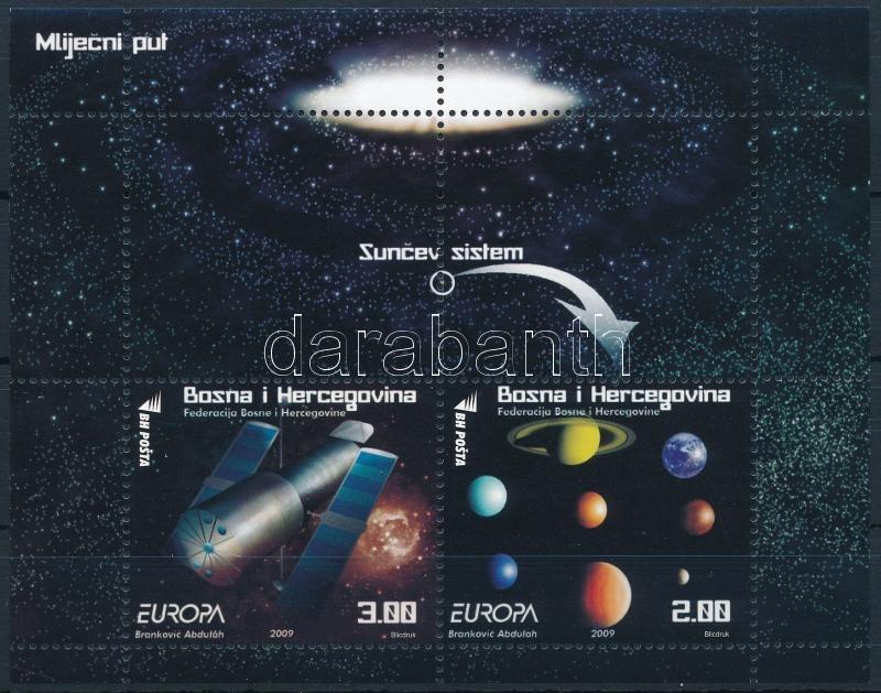 Europe CEPT, Astronomy block, Europa CEPT: Csillagászat blokk