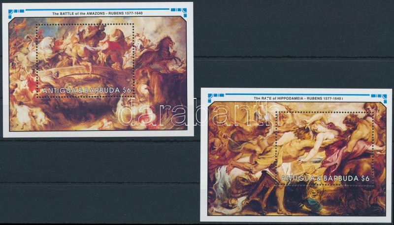 Rubens paintings blockset, Rubens festmény blokksor