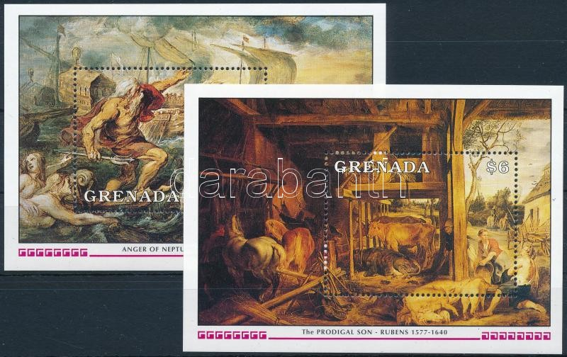 Rubens paintings blockset, Rubens festmény blokksor