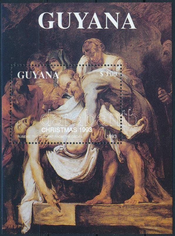 Rubens painting block, Rubens festmény blokk