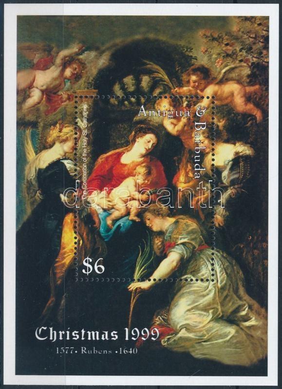 Rubens festmény blokk, Rubens paintings block