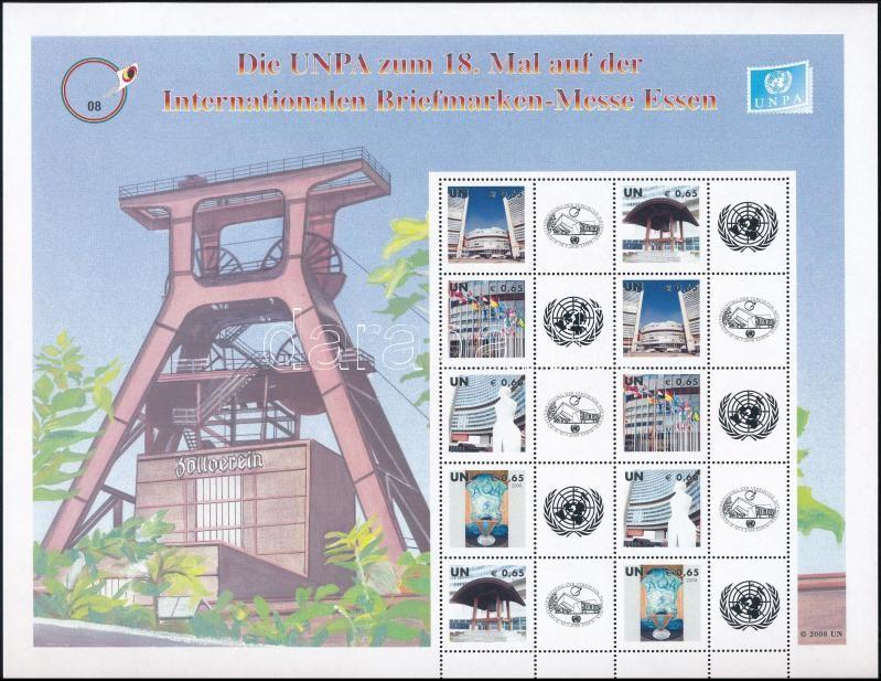 Üdvözlőbélyeg teljes ív, Greeting Stamps complete sheet