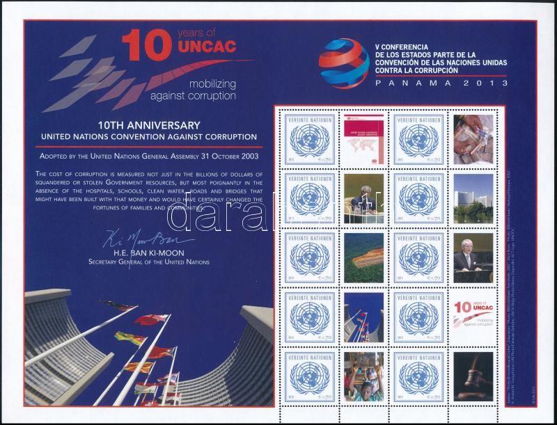 Greetings stamp complete sheet, Üdvözlőbélyeg teljes ív
