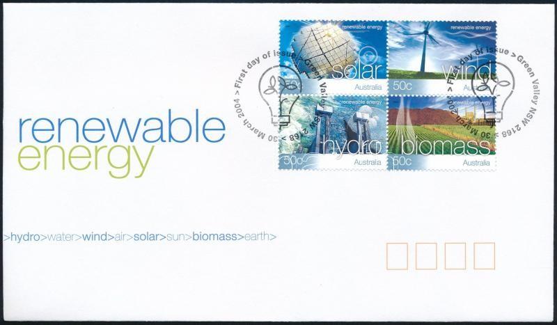 Renewable energy set FDC, Megújuló energia sor FDC-n