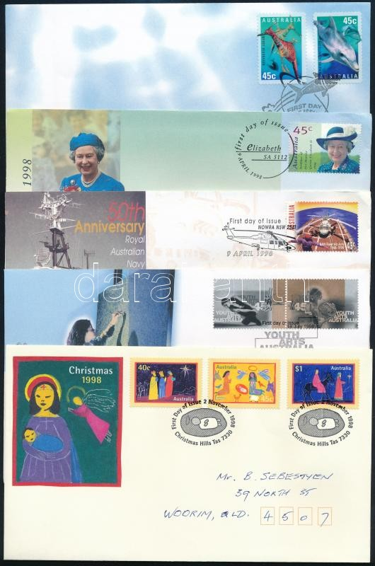 5 FDC, 5 klf FDC