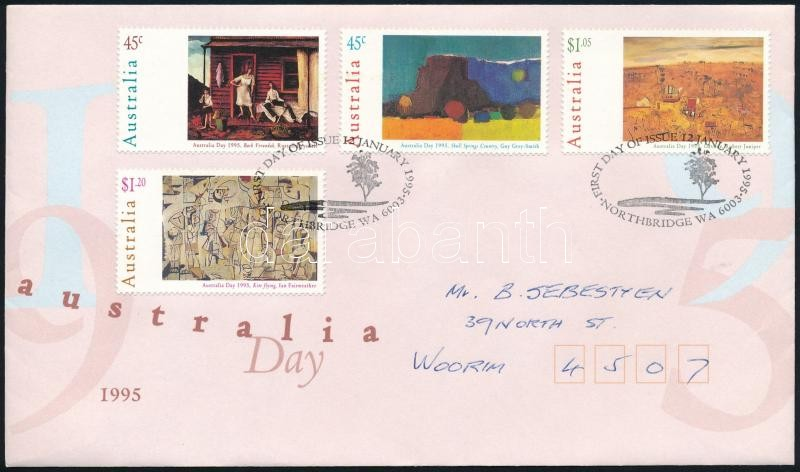 Paintings set FDC, Festmény sor FDC-n