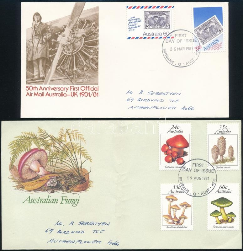 4 FDC, 4 klf FDC