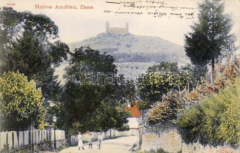 Andlau, Castle ruins