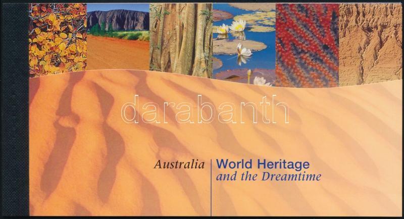 UNESCO Australia stamp-booklet, UNESCO világörökség: Ausztrália bélyegfüzet