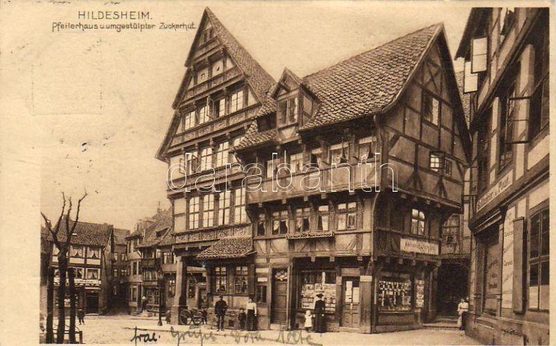 Hildesheim, Pfeilerhaus, Zuckerhut / shops
