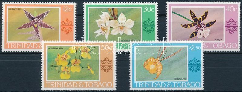 Definitive; Orchids set, Forgalmi; Orchideák sor
