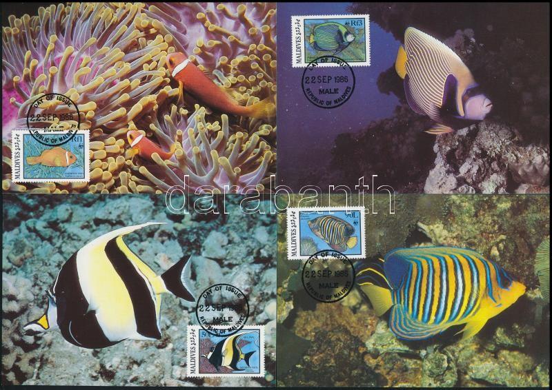 WWF: Fish set on 4 CM, WWF: Halak sor 4 db CM-en