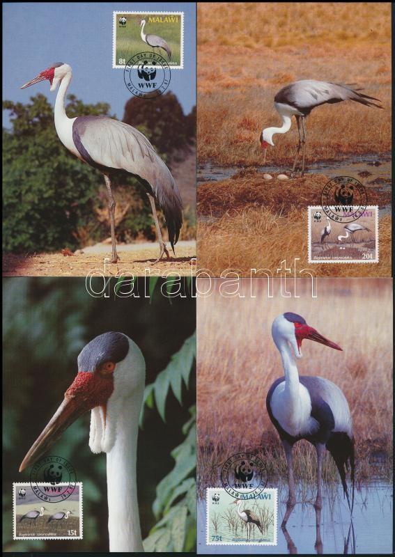 WWF: Crane on 4 CM, WWF: Darumadár 4 db CM-en