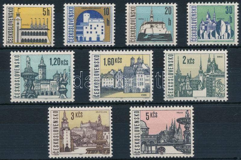 Definitive: Cities set, Forgalmi: Városok sor
