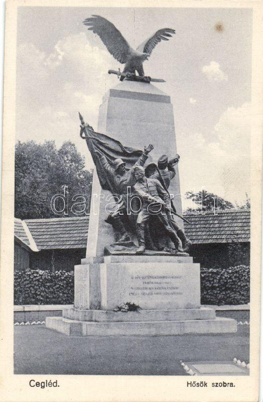Cegléd, Hősök szobra
