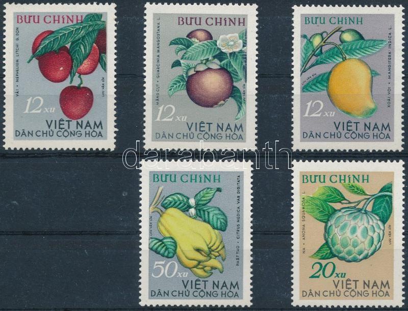 Fruit set, Gyümölcs sor