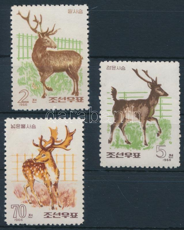 Deer set 3 value, Szarvas sor 3 értéke