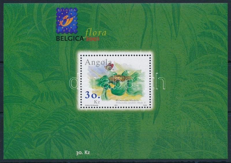 International Stamp Exhibition block, Nemzetközi bélyegkiállítás: Brüsszel; Növények blokk
