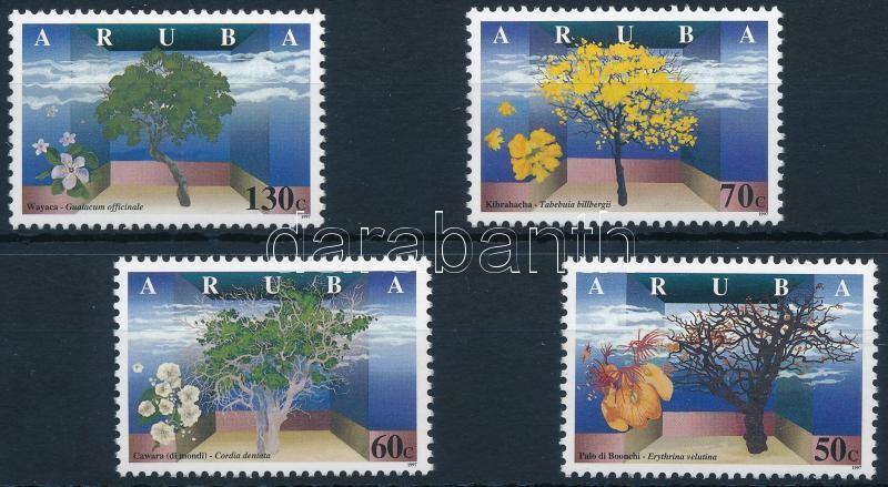 Flowering trees set, Virágzó fák sor