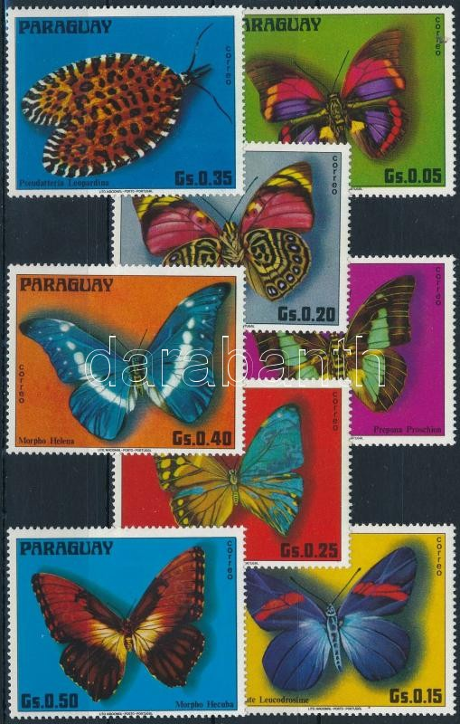 Pillangó sor, Butterfly set