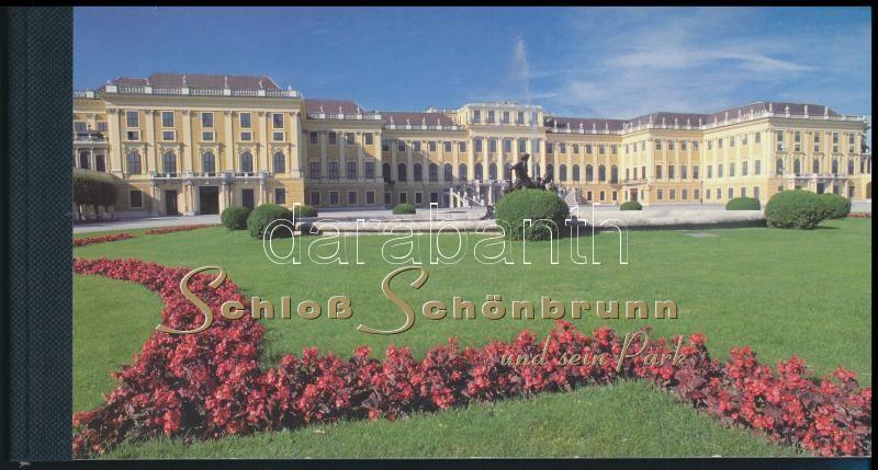 UNESCO World Heritage: Schönbrunn stamp booklet, UNESCO-világörökség: Schönbrunn bélyegfüzet