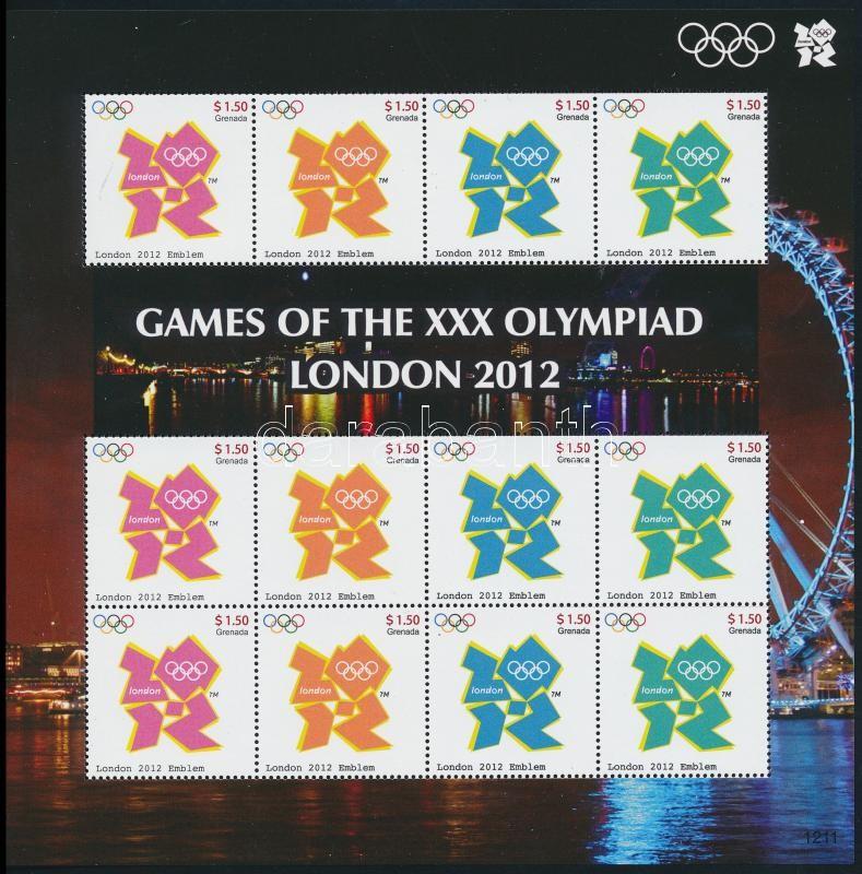 Summer Olympics mini sheet, Nyári olimpia kisív