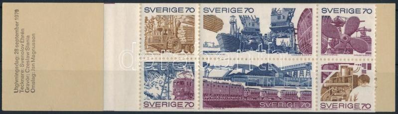 Economy and industry stamp-booklet, Gazdaság és ipar bélyegfüzet