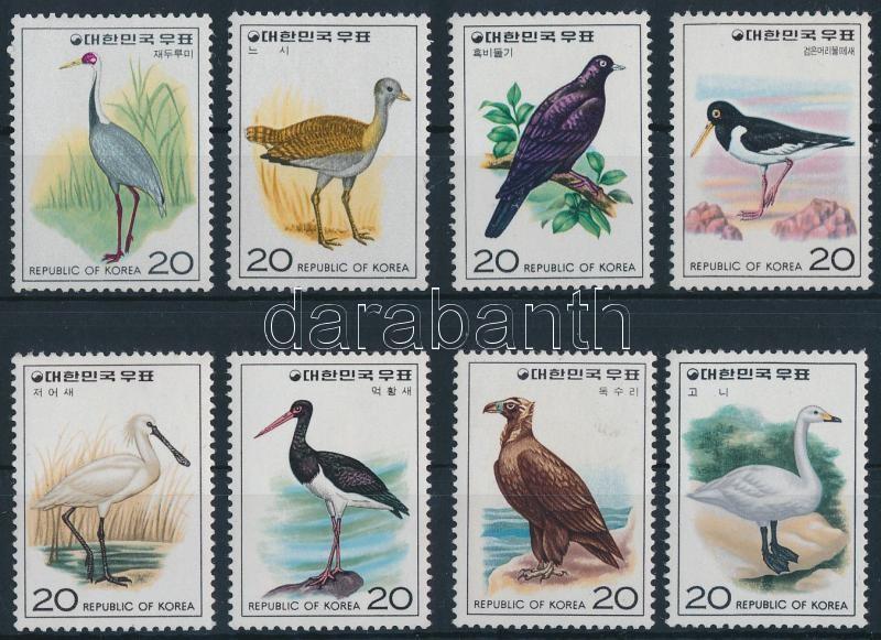 Birds (I.) + (III)-(V.) 4 set, Madarak (I.) + (III)-(V.) 4 klf sor