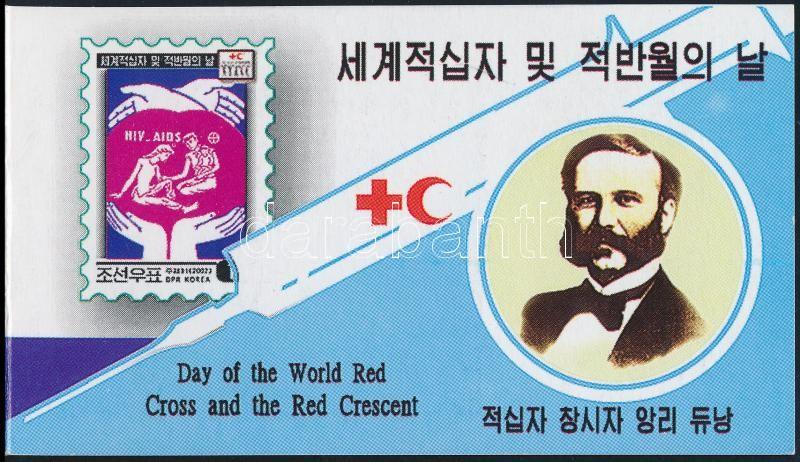 Red Cross stamp booklet, Vöröskereszt bélyegfüzet