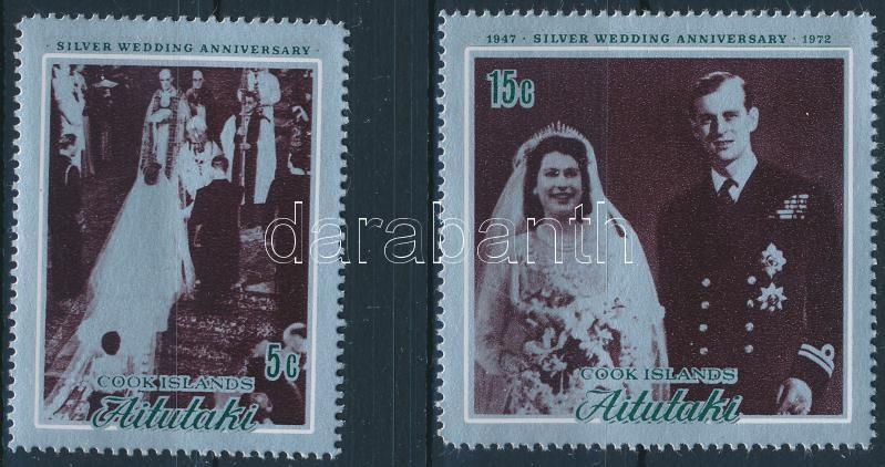 Silver Jubilee of the British royal couple set, Az angol király pár ezüstlakodalma sor
