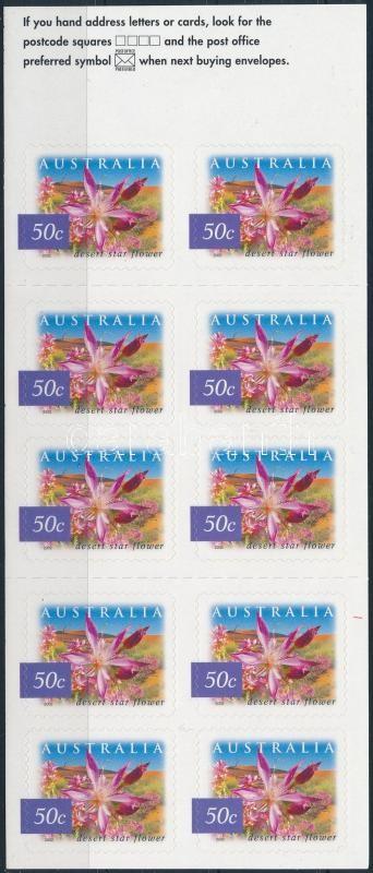 Flower stamp-booklet, Sivatagi virág bélyegfüzet