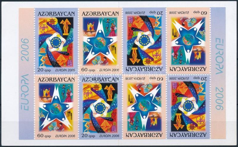 Europa CEPT: Integration stamp booklet, Europa CEPT: Integráció bélyegfüzet
