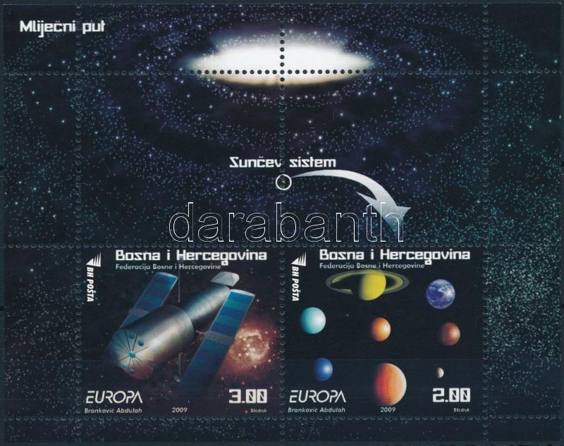 Europa CEPT: Űrkutatás blokk, Europa CEPT: Space Travel  block