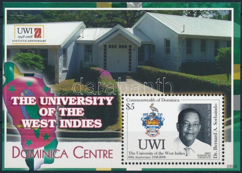 60th Anniversary of the University of West Indies block, 60 éves a Nyugat-indiai Egyetem blokk