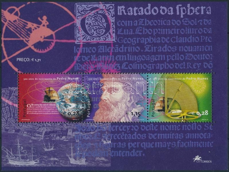 Pedro Nunes mathematical block, Pedro Nunes matematikus blokk
