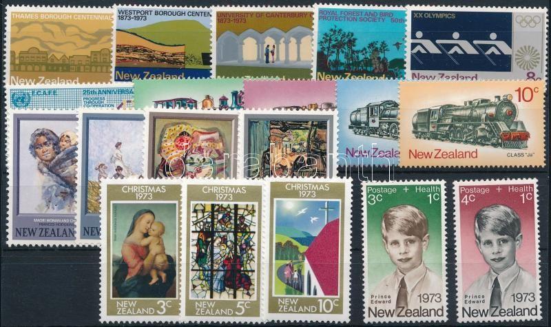 19 stamps, almost full-year editions, 19 klf bélyeg, csaknem a teljes évfolyam kiadásai