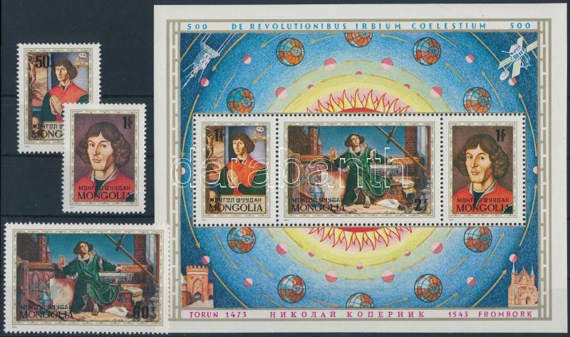 Copernicus set + block, Kopernikusz sor + blokk