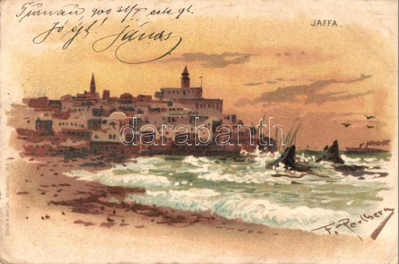 Jaffa, Schön & Maison litho s: F. Perlberg