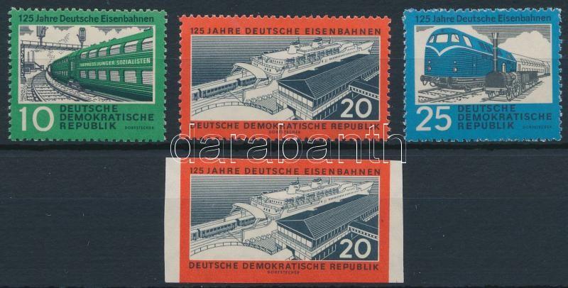 125th Anniversary of the german railway set, 125 éves a német vasút sor