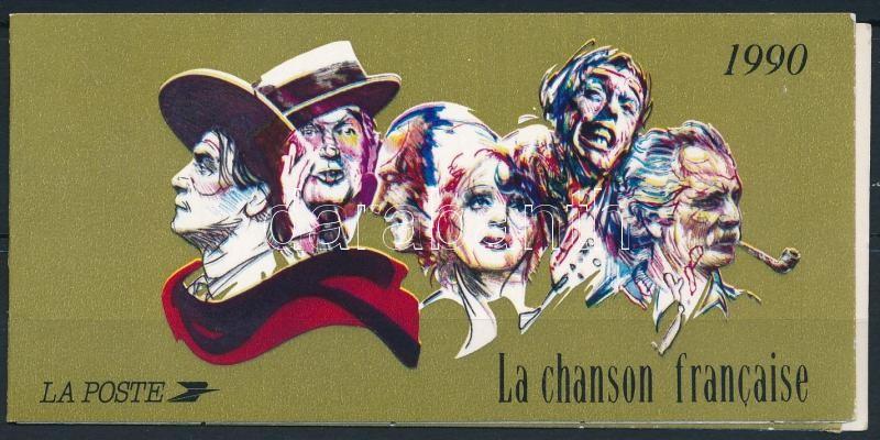 Crooner stamp-booklet, Sanzonénekesek bélyegfüzet