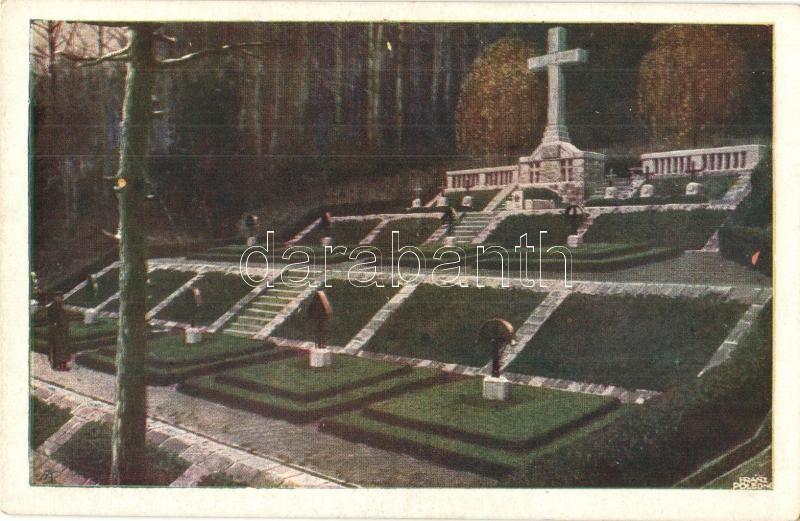 Kriegerfriedhof Zawadka. Regimentszugehörigkeit der Bestatteten K.u.K. Infantry regiment 62. / WWI K.u.K. military cemetery s: e.f. Zugsf. Franz Poledne, I. világháborús K.u.K. katonai temető s: e.f. Zugsf. Franz Poledne